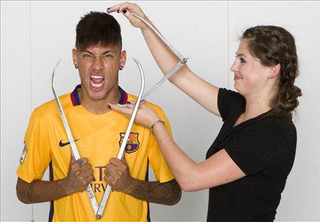 Neymar's perfect birthday present