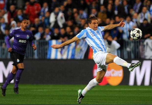 Malaga-Porto 2-0: Isco e Santa Cruz firmano la 'remontada' della squadra di Pellegrini