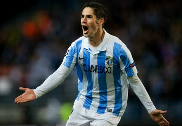 Real Madrid are interested in signing Isco, according to Malaga
