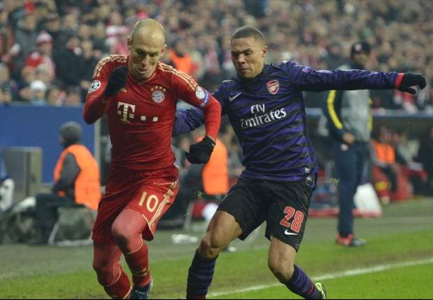 Robben: Arsenal loss a wake-up call for Bayern