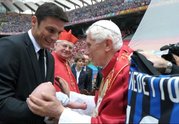 Zanetti, emocionado por tener un Papa argentino