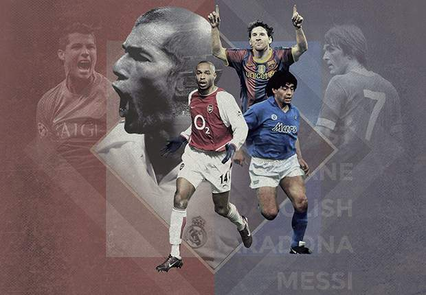 Cruyff or Messi? Di Stefano or Ronaldo? - The 20 greatest players of all time for each major club