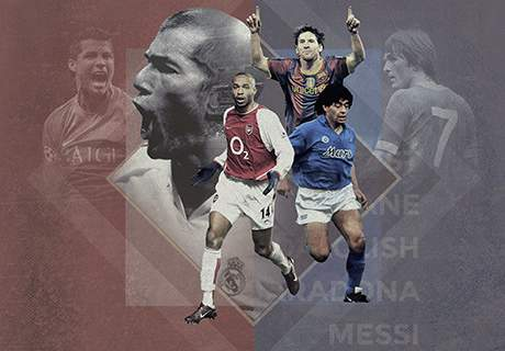 20 best players ever for each top club