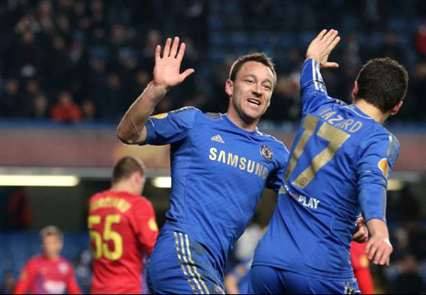 Chelsea 3-1 Steaua Bucharest (agg 3-2): Terry & Torres guide Blues through to last eight
