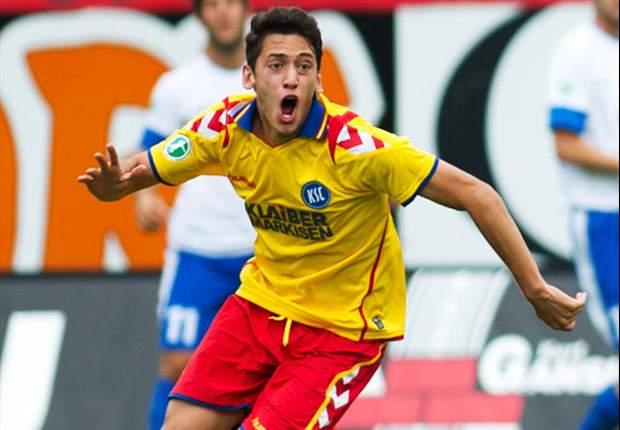 Hakan Calhanoglu kommt aus Karlsruhe und will nun beim Hamburger SV durchstarten