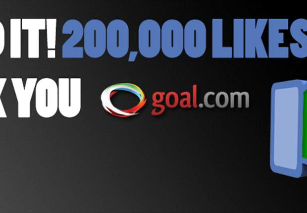 Goal.com Nigeria hits 200,000+ likes on Facebook