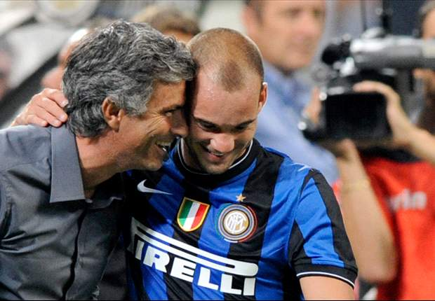 Sneijder: Mourinho is like a second father to me