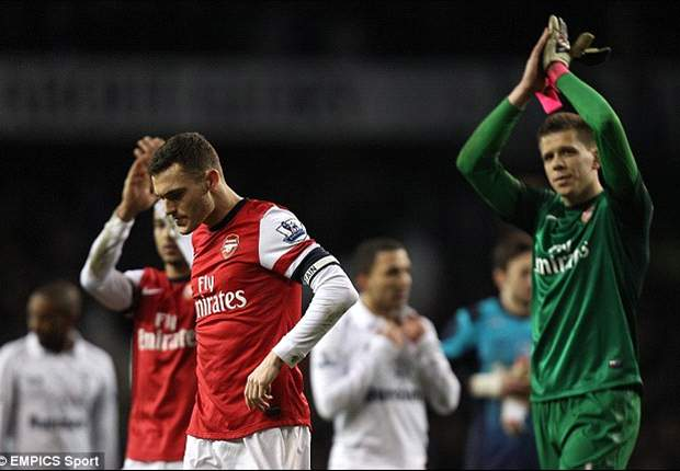 TEAM NEWS: Fabianski preferred to Szczesny as Vermaelen starts on the bench for Arsenal against Reading