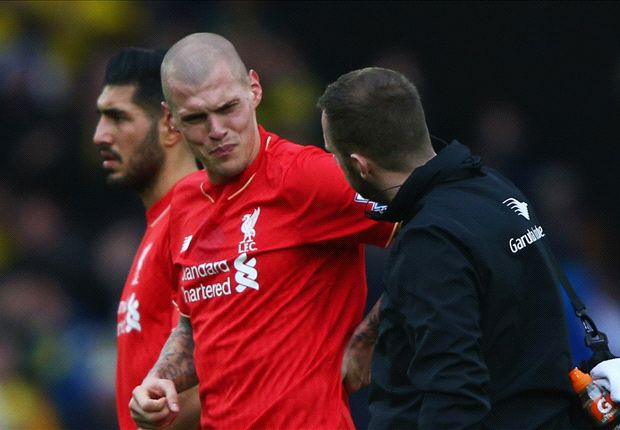 Klopp confirms Skrtel out for further three weeks with fresh injury