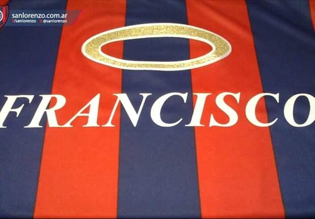 San Lorenzo le regalará una camiseta al Papa