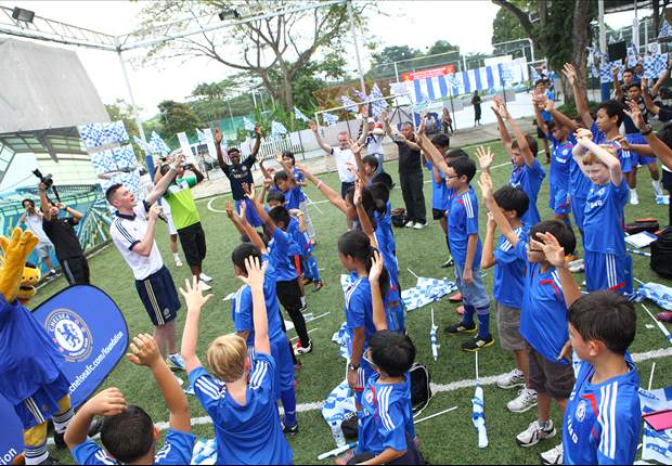 Chelsea launch Soccer School at Turf City