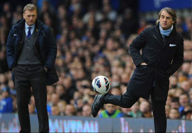 Mancini eyes second place as he accepts Manchester United league victory