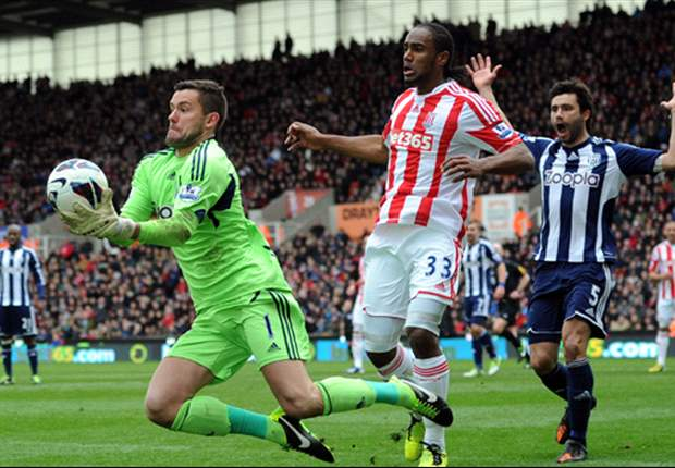 Steve Clarke hails goalkeeper Foster after West Brom draw with Stoke