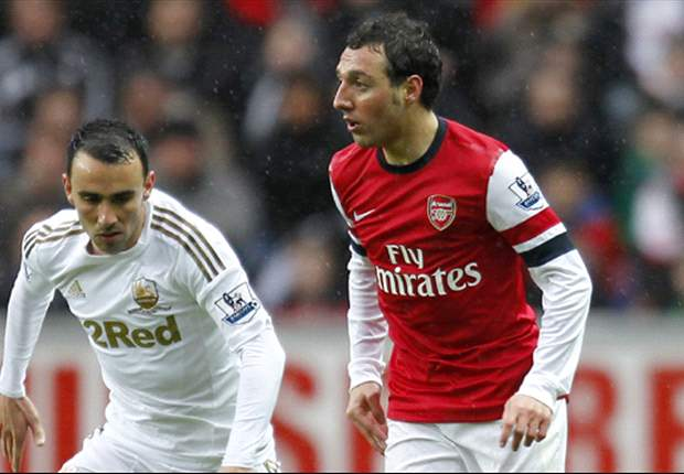 Swansea 0-2 Arsenal: Monreal strikes vital blow in the race for fourth