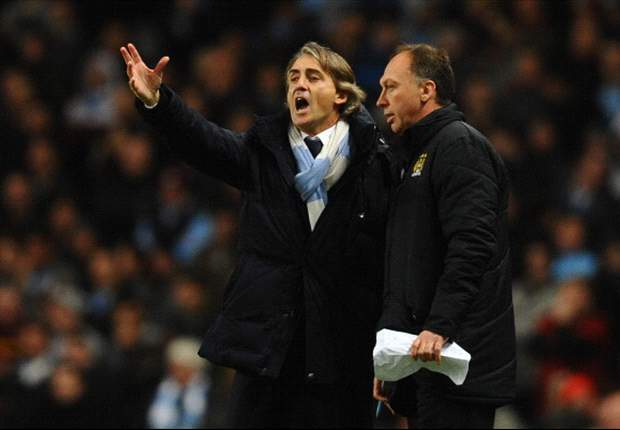 Mancini: Manchester City do not deserve to be 15 points behind United