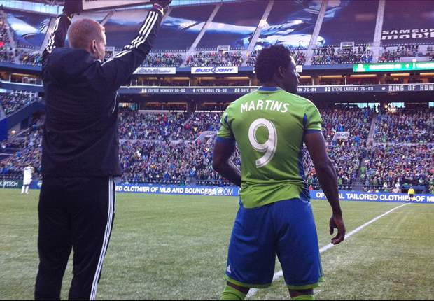 Seattle Sounders FC 1-1 Portland Timbers: Obafemi Martins makes MLS debut