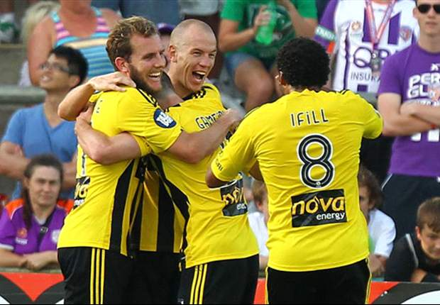 Perth Glory 1-2 Wellington Phoenix: Ifill on target