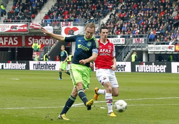 Ajax blijft overeind bij AZ