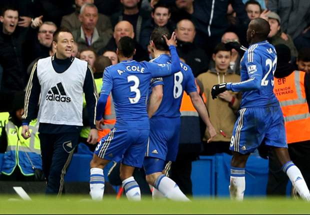 Chelsea 2-0 West Ham: Lampard brings up his double ton to help Blues leapfrog Spurs