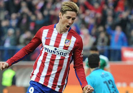 Torres scores 100th goal for Atletico