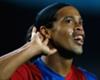 Ronaldinho hace el mismo regalo a Cristiano Ronaldo y Neymar