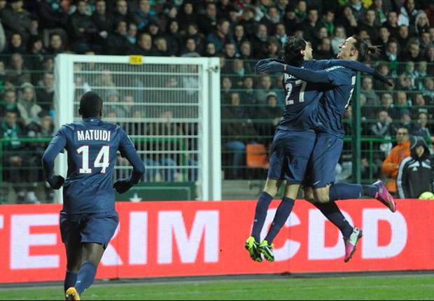 St Etienne Redam Paris Saint-Germain