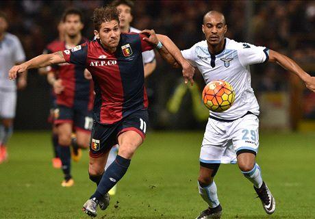 Un punto a ciascuno: male Genoa e Lazio