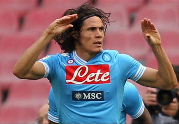 Cavani can leave if someone pays €70m, says De Laurentiis