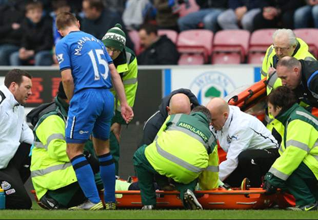 Haidara escapes significant injury following McManaman horror tackle