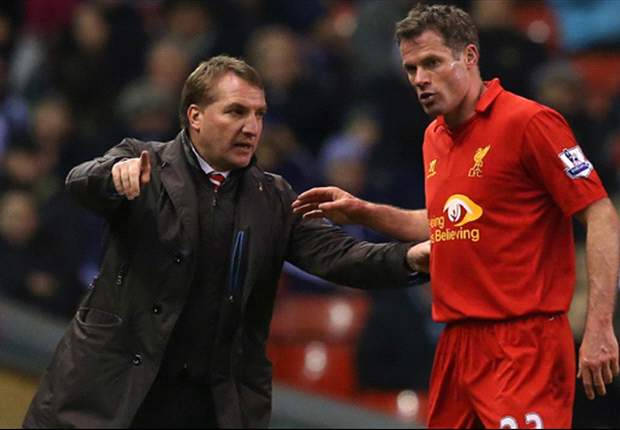 Rodgers calls for Carragher to re-think Liverpool retirement