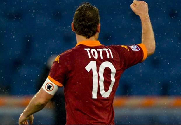 Francesco Totti, 20 años en la Serie A con la Roma