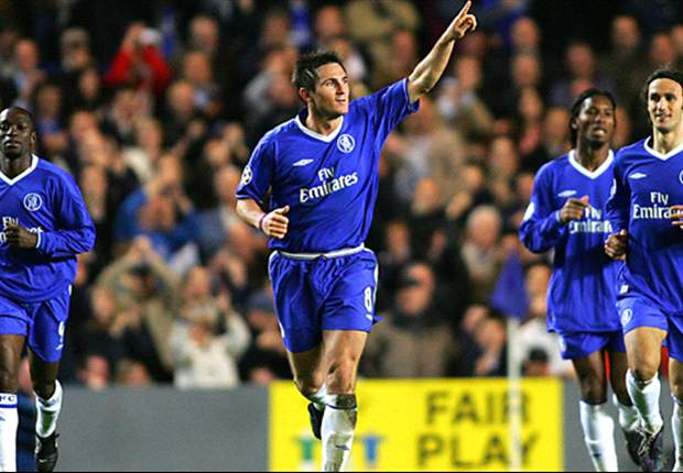 Frank Lampard, orgulloso de ser el mediocampista inglés más goleador