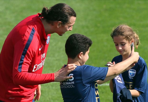 Ibrahimovic trains like an eager youngster on their first day - Maxwell