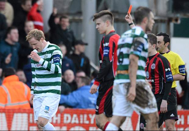 Bohemians 0-0 Shamrock Rovers - Hoops hold on for point after Foran red card