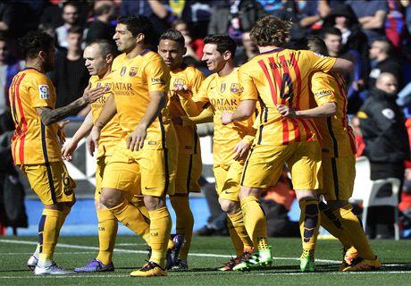 REPORT: Levante 0-2 Barcelona