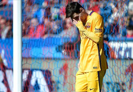 ¿Messi al quirófano?