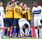 Inter all'inferno... e ritorno: 3-3 a Verona