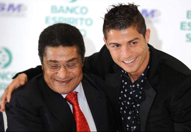 Eusebio: My record better than Ronaldo's