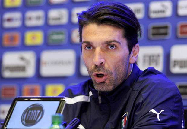 Buffon unhappy with Italy performance