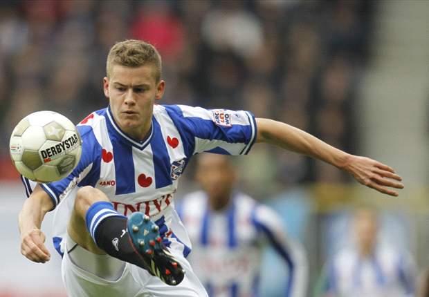 Alfred Finnbogason steht noch beim SC Heerenveen unter Vertrag