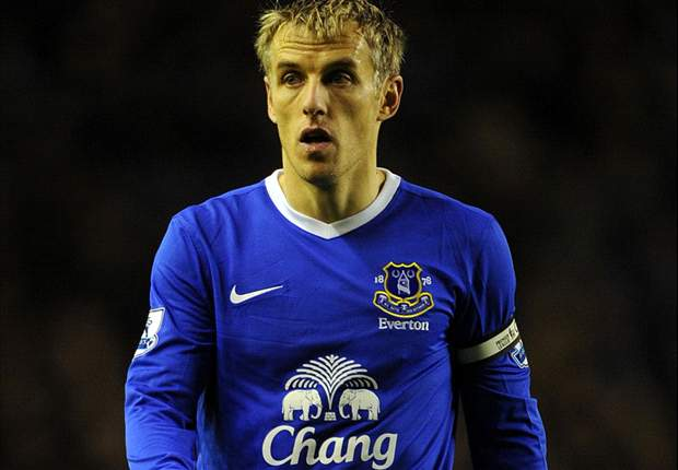 Everton captain Neville willing to drop down divisions to extend career