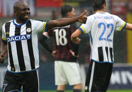 REPORT: AC Milan 1-1 Udinese