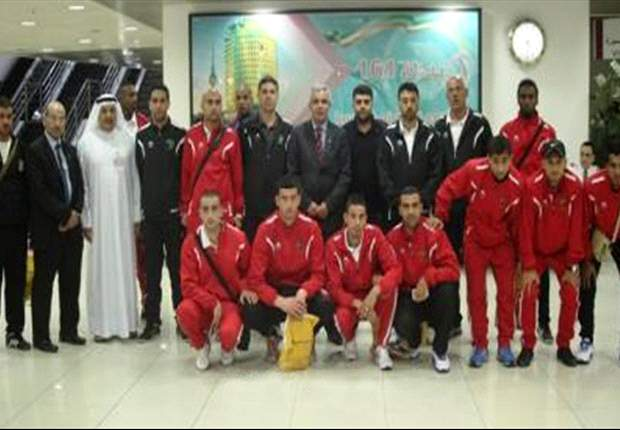 The Palestine national football team