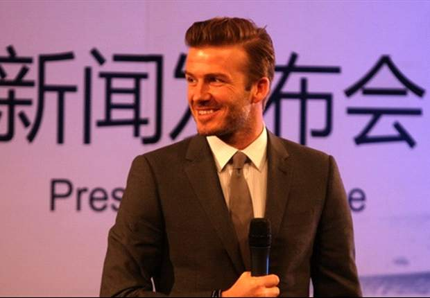 Beckham heaps praise on China after visit