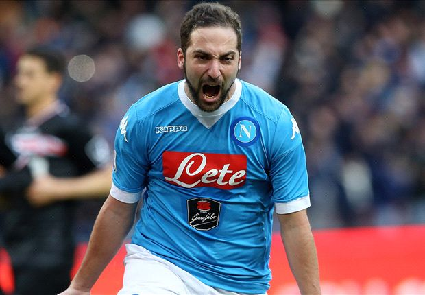 RUMOURS: Chelsea want Higuain to replace Costa