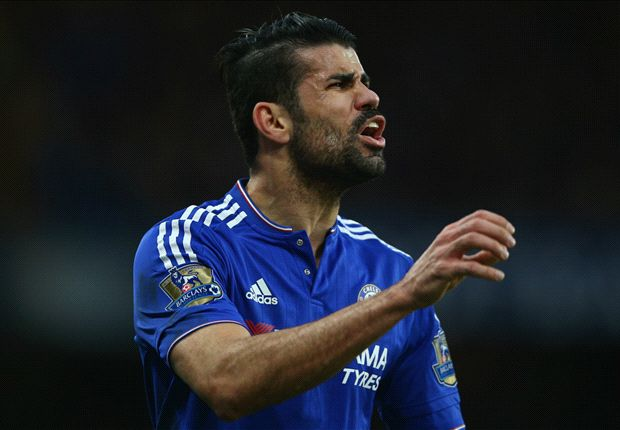 Can Diego Costa score past TWO goalkeepers?