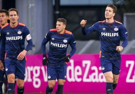 PSV revancheert zich en is weer koploper