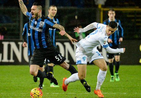 0 goal sotto la pioggia: 0-0 a Bergamo
