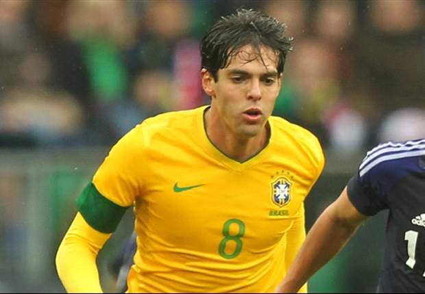 Luiz Felipe Scolari Pastikan Kaka Dicadangkan Lawan Italia