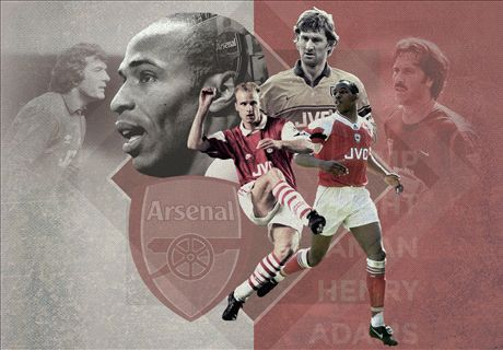 Arsenal's 20 greatest players of all time